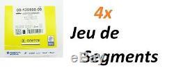 4x KIT DE SEGMENTS pour VW GOLF PLUS (5M1, 521) 2.0 TDI 131ch