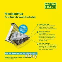 5L MANNOL 5W-30 Break Ll + Mann-Filter Pour VW Caddy III Kasten 1.9 Tdi