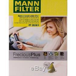 5L MANNOL 5W-30 Break Ll + Mann Filtre Luft Pour VW Caddy III Boîte 1.9 Tdi