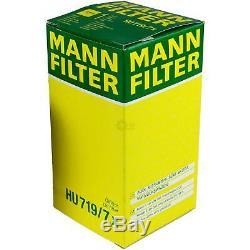 5L MANNOL 5W-30 Break Ll + Mann Filtre Luft Pour VW Caddy III Boîtier 1.9 Tdi
