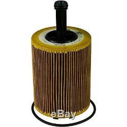 5L Mannol 5W-30 Break Ll + Mann-Filter Filtre VW Caddy III Boîte 1.9 Tdi