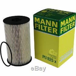 5L Mannol 5W-30 Break Ll + Mann-Filter Filtres à VW Caddy III Boîtier 1.9 Tdi