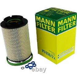 5 L MANNOL 5W-30 Break LL+ MANN-FILTER pour VW Caddy III Boîtier 1.9 TDI 4motion