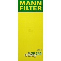 6L MANNOL 5W-30 Break Ll + Mann-Filter Pour VW Caddy III Boîte 1.9 Tdi 4motion