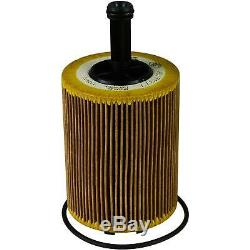 6L MANNOL 5W-30 Break Ll + Mann Filtre Luft Pour VW Caddy III Boîtier 1.9 Tdi