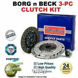 Borg N Beck 3PC Kit Embrayage pour VW Golf VI 1.6 Tdi 2009-2012