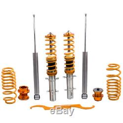 Combinés filetés Suspension Kit for VW Volkswagen Golf MK4 1.9 TDi Spring Struct