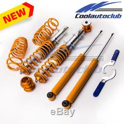 Combinés filetés Suspension Kit for VW Volkswagen Golf MK4 1.9 TDi Spring Struct