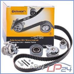 Contitech Kit De Distribution + Pompe Eau Audi A4 8e B7 2.0 Tdi 04-08