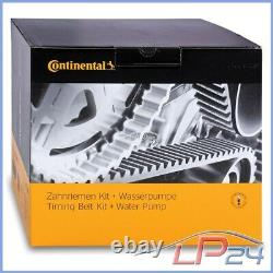 Contitech Kit De Distribution + Pompe Eau Vw Golf 4 1j 1.9 Tdi