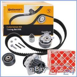 Contitech Kit De Distribution+febi Pompe À Eau Seat Leon 1p 2.0 Tdi 05-12