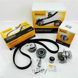 Contitech Kit de Courroie Distribution+Pompe A Eau Audi VW 2,0l Tdi 16V Bkd Azv