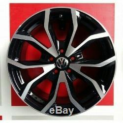 ESSE1 / Bp Kit 4 Jantes en Alliage 18 Ece 124/R Volkswagen Golf 7 TSI Tdi 4
