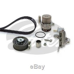 Gates Eau Pompe & Kit Courroie Distribution pour VW Golf IV 1.9TDi 1998-2001