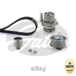 Gates Eau Pompe & Kit Courroie Distribution pour VW Golf IV 1.9TDi 4motion