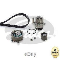 Gates Eau Pompe & Kit Courroie Distribution pour VW Golf Plus 1.9TDi 2005-2009