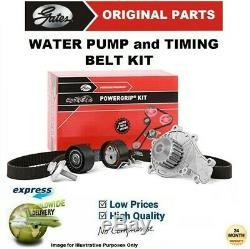 Gates Eau Pompe & Kit Courroie Distribution pour VW Golf VI 1.6TDi