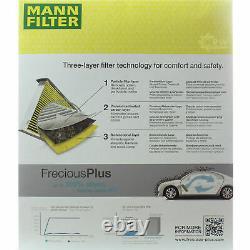 Huile Moteur 5L Mannol Diesel Tdi 5W-30 + Mann-Filter Filtre VW Golf II 1H1