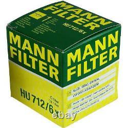 Huile Moteur 5L Mannol Diesel Tdi 5W-30 + Mann-Filter Filtre VW Touran 1T1