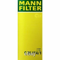 Huile Moteur 5L Mannol Diesel Tdi 5W-30 + Mann-Filter Filtres à Audi A3 8P1