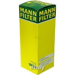Huile Moteur 5L Mannol Diesel Tdi 5W-30 + Mann-Filter Filtres à VW Touran 1T1