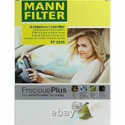 Huile Moteur 5L Mannol Diesel Tdi 5W-30 + Mann-Filter VW Caddy III Break 2CJ 2.0