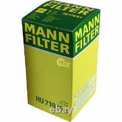 Huile Moteur 5L Mannol Diesel Tdi 5W-30 + Mann Filtre Luft Filtre Audi A3 8P1