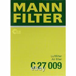 Huile Moteur 5L Mannol Diesel Tdi 5W-30 + Mann Filtre Luft VW Jetta IV 162
