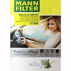 Huile Moteur 5L Mannol Diesel Tdi 5W-30 + Mann+Hummel VW Golf IV Cabriolet