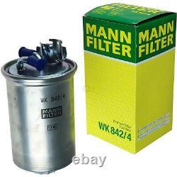 Huile moteur 5L MANNOL Defender 10W-40 + Mann-Filter VW Golf III 1E7 1.9 Tdi