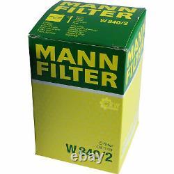 Huile moteur 5L MANNOL Defender 10W-40 + Mann-Filter VW Golf III 1H1 1.9 Tdi
