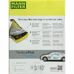 Huile moteur 5L MANNOL Diesel Tdi 5W-30 + Mann-Filter VW Caddy III Box 2KA