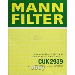 Huile moteur 5L MANNOL Diesel Tdi 5W-30 + Mann-Filter VW Caddy III Combi / 2CJ