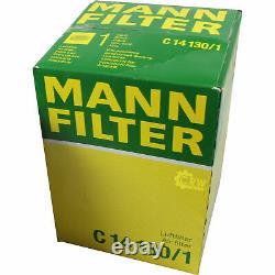 Huile moteur 5L MANNOL Diesel Tdi 5W-30 + Mann-Filter VW Caddy III Combi 2CJ 2.0