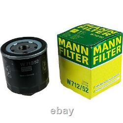 Huile moteur 5L MANNOL Diesel Tdi 5W-30 + Mann-Filter VW Golf IV 1J1 1.6 16V