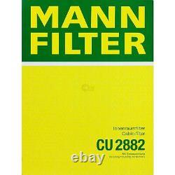 Huile moteur 5L MANNOL Diesel Tdi 5W-30 + Mann-Filter VW Golf VI 5K1