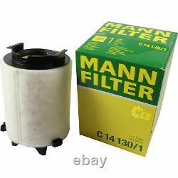 Huile moteur 5L MANNOL Diesel Tdi 5W-30 + Mann-Filter VW Golf (VI) 5K1 1.6