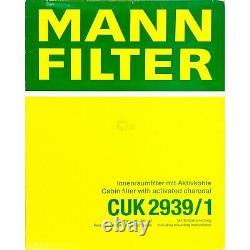 Huile moteur 5L MANNOL Diesel Tdi 5W-30 + Mann-Filter VW Golf VI 5K1 2.0 de R