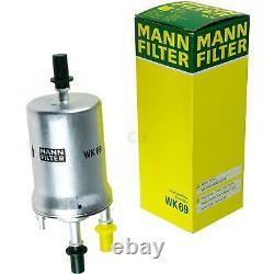 Huile moteur 5L MANNOL Diesel Tdi 5W-30 + Mann-Filter VW Touran 1T1 1T2 1.6