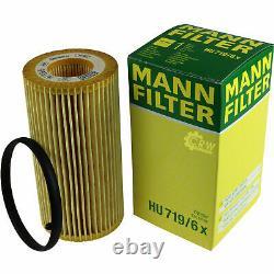 Huile moteur 5L MANNOL Diesel Tdi 5W-30 + Mann-Filter filtre Audi A3