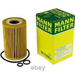Huile moteur 5L MANNOL Diesel Tdi 5W-30 + Mann-Filter filtre Audi A3 8P1 2.0 16V