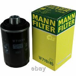 Huile moteur 5L MANNOL Diesel Tdi 5W-30 + Mann Filtre Luft Skoda Superb 3T4