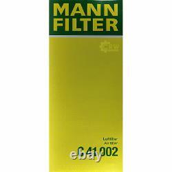 Huile moteur 5L MANNOL Diesel Tdi 5W-30 + Mann Filtre Luft VW Golf VI 5K1 2.0