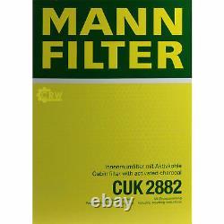 Huile moteur 5L MANNOL Diesel Tdi 5W-30 + Mann Filtre Luft VW Golf V 1K1 1.6