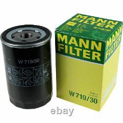 Huile moteur 5L MANNOL Diesel Tdi 5W-30 + Mann Skoda Octavia Break 1Z5 1.6