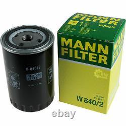 Huile moteur 5L MANNOL Elite 5W-40 + Mann-Filter filtre VW Golf III 1H1 1.9 Tdi