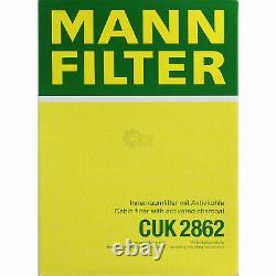 Huile moteur 5 L MANNOL 5W-30 Break LL + MANN-FILTER Filtre Audi A3 8L1 1.9 TDI
