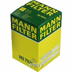 Huile moteur 5 L MANNOL 5W-30 Break LL+MANN-FILTER Filtre VW Golf VI 5K1 2.0 TDI