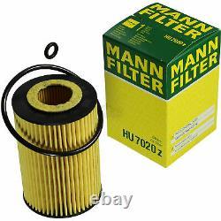 Huile moteur 5 L MANNOL 5W-30 Break LL+MANN-FILTER Seat Leon ST 5F8 2.0 TDI