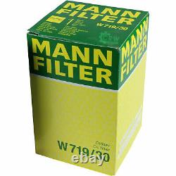 Huile moteur 5 L MANNOL Diesel TDI 5W-30+MANN-FILTER VW Golf Plus 5M1 521 1.6
